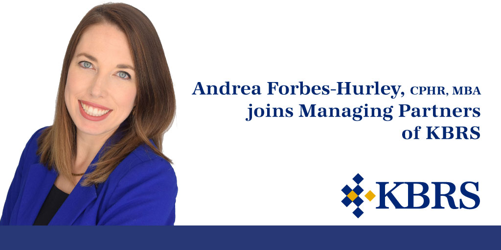 Andrea Forbes-Hurley joins Managing Partners of KBRS