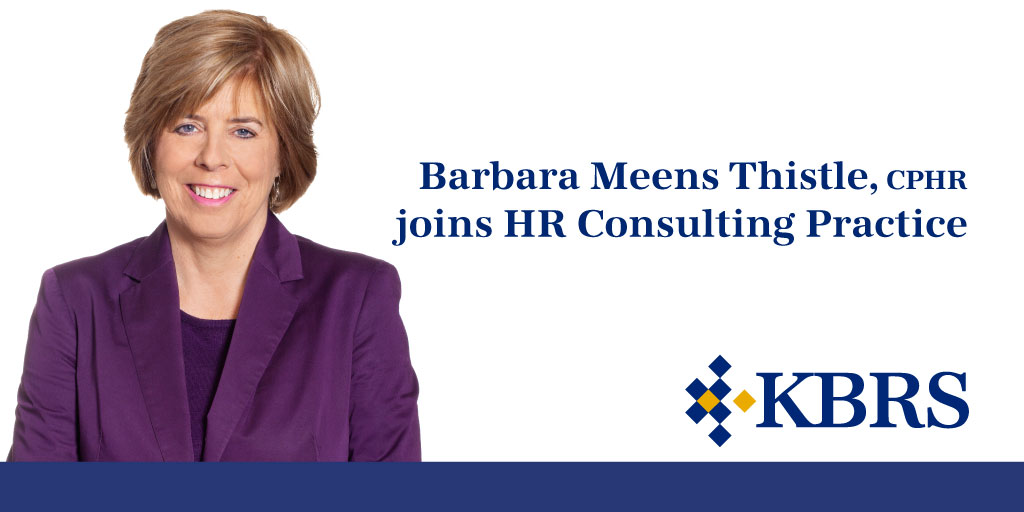 Barbara Meens Thistle Joins KBRS - Announcement