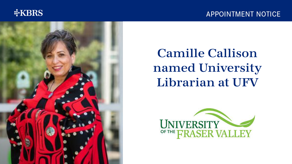 Camille Callison appointed University Librarian at UFV