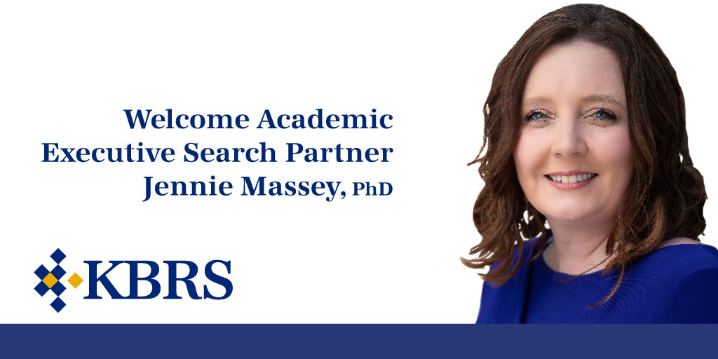 Welcomes Academic Executive Search Partner, Jennie Massey, PhD