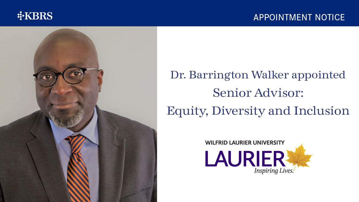 Dr. Barrington Walker
