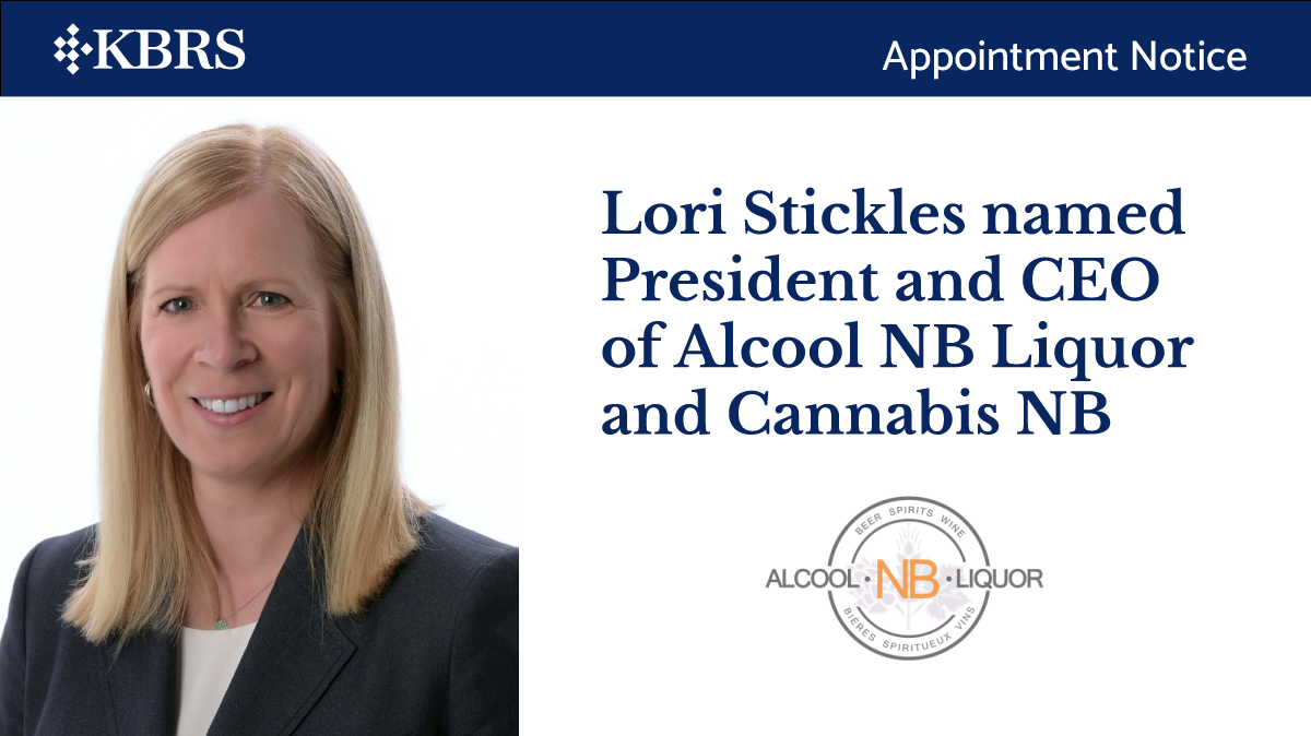 Lori Stickles named President and CEO of Alcool NB Liquor and Cannabis NB