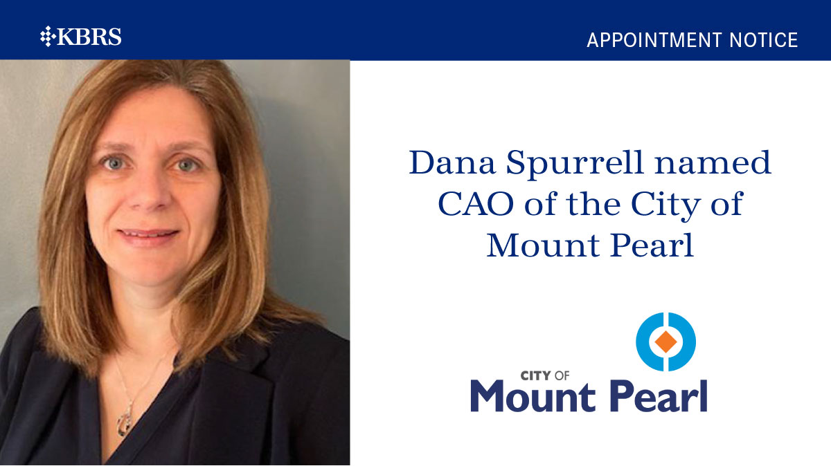 Dana Spurrell named Chief Administrative Officer of the City of Mount Pearl