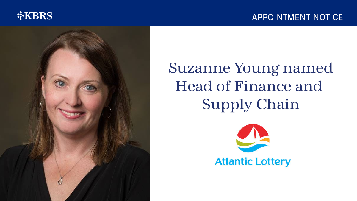 Atlantic Lottery Corporation Welcomes Suzanne Young as Head of Finance and Supply Chain