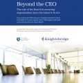 Beyond the CEO